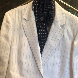 Brooks Brothers Pinned Striped Ivory Suite